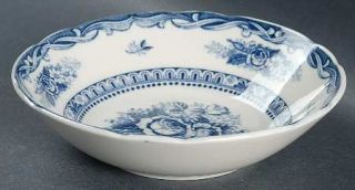 Nasco (Japan) Old Vienna Coupe Cereal Bowl, Fine China Dinnerware   Blue & White