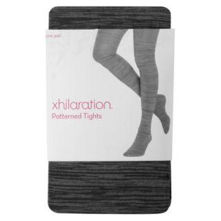 Xhilaration Juniors Fashion Layering Tights   Black Spacedye S/M