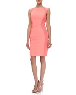 Womens Jineen Cap Sleeve Sheath Dress, Bright Pink   Ted Baker London