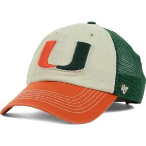 Miami Hurricanes 47 Brand Schist Trucker Cap