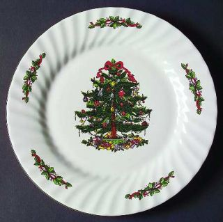 China(Made In China) Christmas Village Dinner Plate, Fine China Dinnerware   Hol