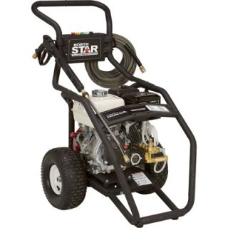 NorthStar Gas Cold Water Pressure Washer   3.5 GPM, 4000 PSI, Model# 15781520