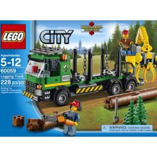 LEGO City Logging Truck 60059