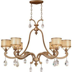 Corbett Lighting COR 71 56 Roma 6 Light Island