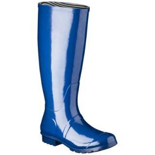 Womens Classic Knee High Rain Boot   Marine Blue 7