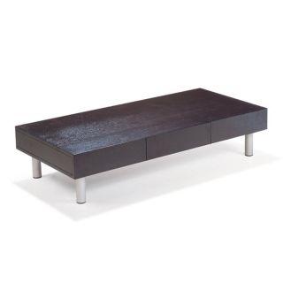 Beverly Hills Furniture Inc CT03 Rectangular Coffee Table   Espresso Dark Brown