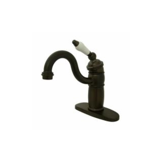 Elements of Design EB1485PL Hot Springs One Handle Bar Style Lavatory Faucet Wit