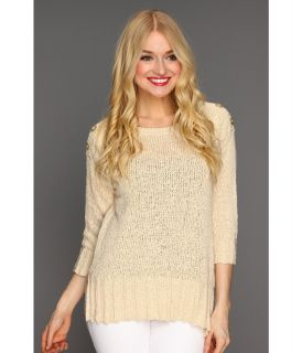 Lucky Brand Isabella Sweater Womens Sweater (White)