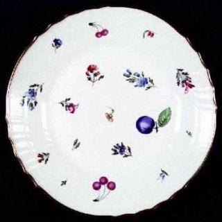 Richard Ginori Perugia (White) Dinner Plate, Fine China Dinnerware   Vecchio,Fru