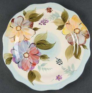 Gibson Designs Crazy Daisies Dinner Plate, Fine China Dinnerware   Handpainted M