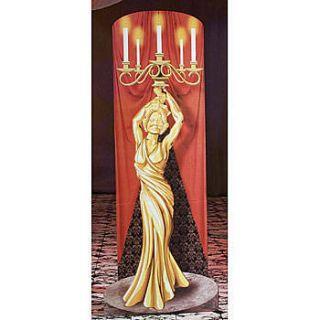 Opera House Golden Candelabra