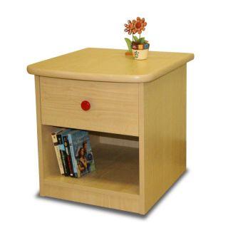 Berg Furniture USA Inc Sierra 1 Drawer Nightstand Natural Multicolor 22 ...