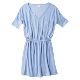 Mossimo Supply Co. Juniors V Neck Dress   Rushing Water Blue M(7 9)