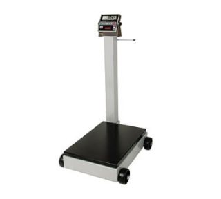 Detecto Digital Receiving Scale, 1 in LCD Display, LB/KG Switch, 1000 x .5 lb