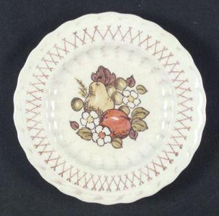 Metlox   Poppytrail   Vernon Fruit Basket Bread & Butter Plate, Fine China Dinne