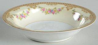 Noritake Estrella Rim Fruit/Dessert (Sauce) Bowl, Fine China Dinnerware   Floral