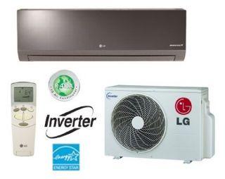 LG LA090HSV2 Ductless Air Conditioner SingleZone Wall Mount Mini Split System w/ Heat Pump 9,000 BTU