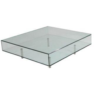 Focus One Home Arron Square Coffee Table FC 315SQ / FC 317SQ Size: 40