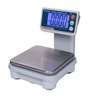 Taylor Digital Portion Scale w/ Tower LCD Readout, AC or Battery Powered