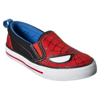 Toddler Boys Spiderman Canvas Shoe   Red 7
