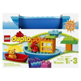 LEGO DUPLO Toddler Build and Boat Fun 10567