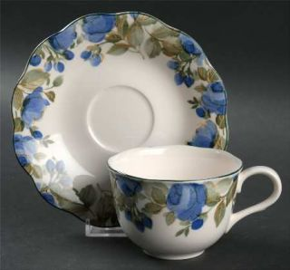 Nikko Flirtatious Flat Cup & Saucer Set, Fine China Dinnerware ...