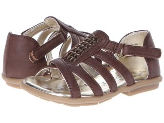Kenneth Cole Reaction Kids Fly The Hoop 2 Girls Shoes (Brown)