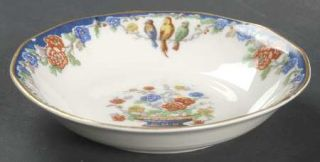 Haviland Garden Of Allah Fruit/Dessert (Sauce) Bowl, Fine China Dinnerware   The