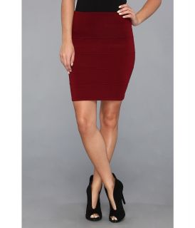 Gabriella Rocha Kimberly High Waisted Skirt Womens Skirt (Burgundy)