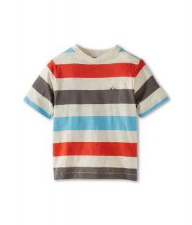 Quiksilver Kids Tower Rip S/S Knit Boys T Shirt (White)
