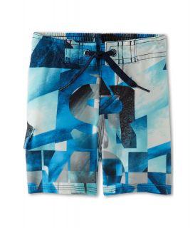 Quiksilver Kids Night Waka Boardshort Boys Swimwear (Blue)