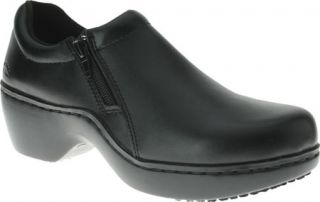 Womens Spring Step Milan   Black Leather Casual Shoes