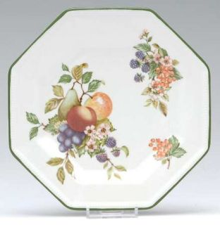 Johnson Brothers Fresh Fruit Salad Plate, Fine China Dinnerware   Fruit Design,