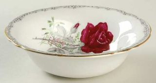 Royal Stafford Roses To Remember Scalloped Rim Cereal Bowl, Fine China Dinnerwar