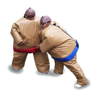 EZ Inflatables Sumo Suits Set of Two Multicolor   I133