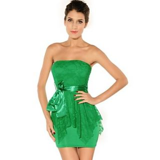 Sexy Lady Women Lace Double layer Dress Cocktail Party Clubwear Mini Dress