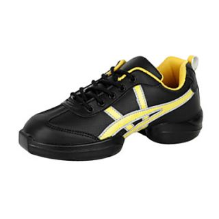 Womens Tulle Leatherette Fitness Sneakers Modern Dance Shoes(More Colors)