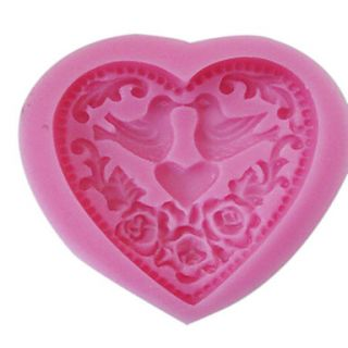 3D Heart Shaped Silicone Mold