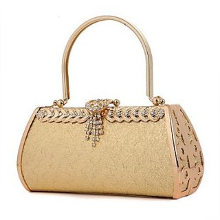 Womens Diamond evening bag bride bag festive dress bag handbag bag 5685 (lining color random)