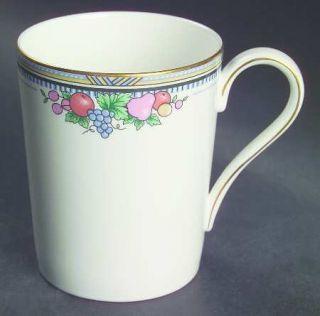 Christopher Stuart Fruit Basket Mug, Fine China Dinnerware   Fruit Basket Center