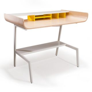 Offi Half Pipe Writing Desk HPIPE  Finish: Birch