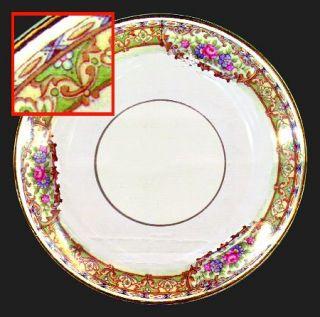 Homer Laughlin  Hlc492 Bread & Butter Plate, Fine China Dinnerware   Eggshell Na