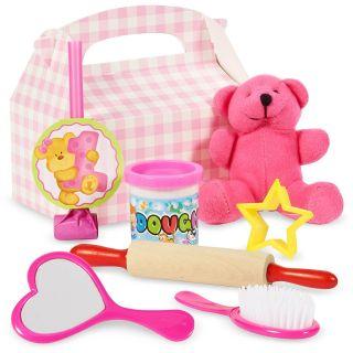 Bears 1st Birthday Girl Party Favor Box