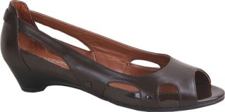 Womens Westbuitti Clair   Coffee Low Heel Shoes
