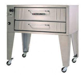 Bakers Pride 36 in Convection Pizza Double Deck Oven, Stubby, Shallow Depth, NG
