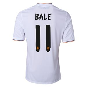 adidas Real Madrid 13/14 BALE Home Soccer Jersey